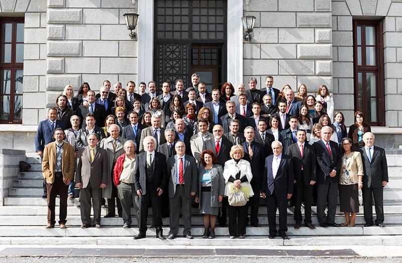 Τα μέλη του Δικηγορικού Συλλόγου Τριπόλεως