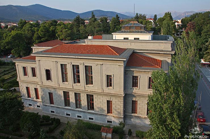 """Άποψη του Δικαστικού Μεγάρου απο το ξενοδοχείο """"Άρτεμις"""""""