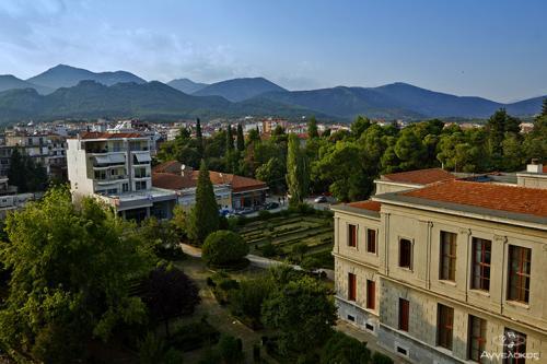 """Άποψη του Δικαστικού Μεγάρου από το Ξενοδοχείο """"ΑΡΤΕΜΙΣ"""""""